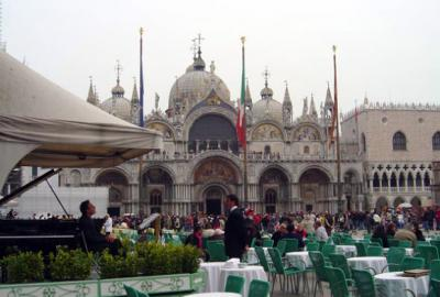 St. Mark's Square Dinner and Classical Music