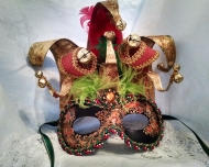 Jolly Mask with Bells