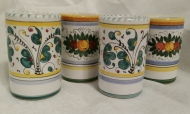 Deruta Italian Ceramic Cup and Vase